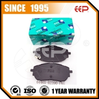 Top quality brake pad for TOYOTA  ZRE152/NDE150/NEW COROLLA 04465-02390