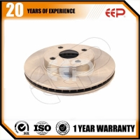 front Brake disc for Toyota corolla 2001-2008 43512-12610